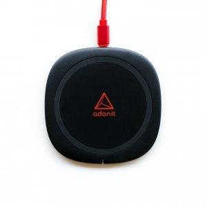 Бездротовий ЗП Adonit Wireless Fast Charging Pad чорний