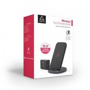 Бездротовий зарядний пристрій Adonit Wireless Fast Charging Stand чорний