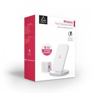 Беспроводное зарядное устройство Adonit Wireless Fast Charging Stand белое