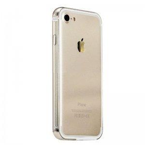 Металлический бампер Coteetci золотой для iPhone 7/8/SE