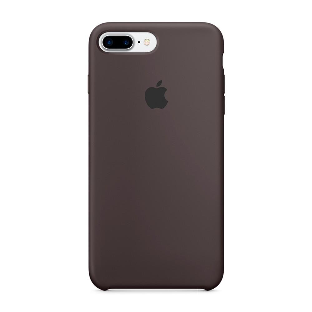 Силиконовый чехол коричневый для iPhone 8 Plus/7 Plus