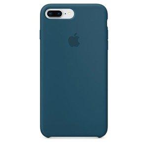 Силиконовый чехол синий для iPhone 8 Plus/7 Plus