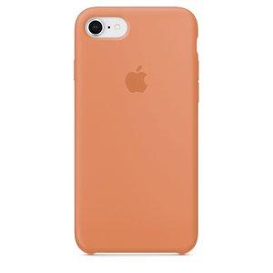Чехол Apple Silicone Case бледно-оранжевый для iPhone 8/7 (реплика)