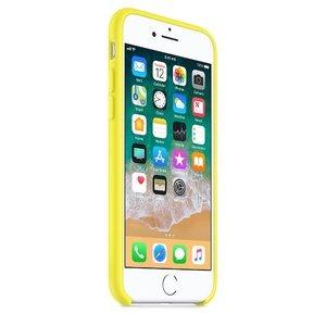Чехол Apple Silicone Case желтый для iPhone 8/7 (реплика)