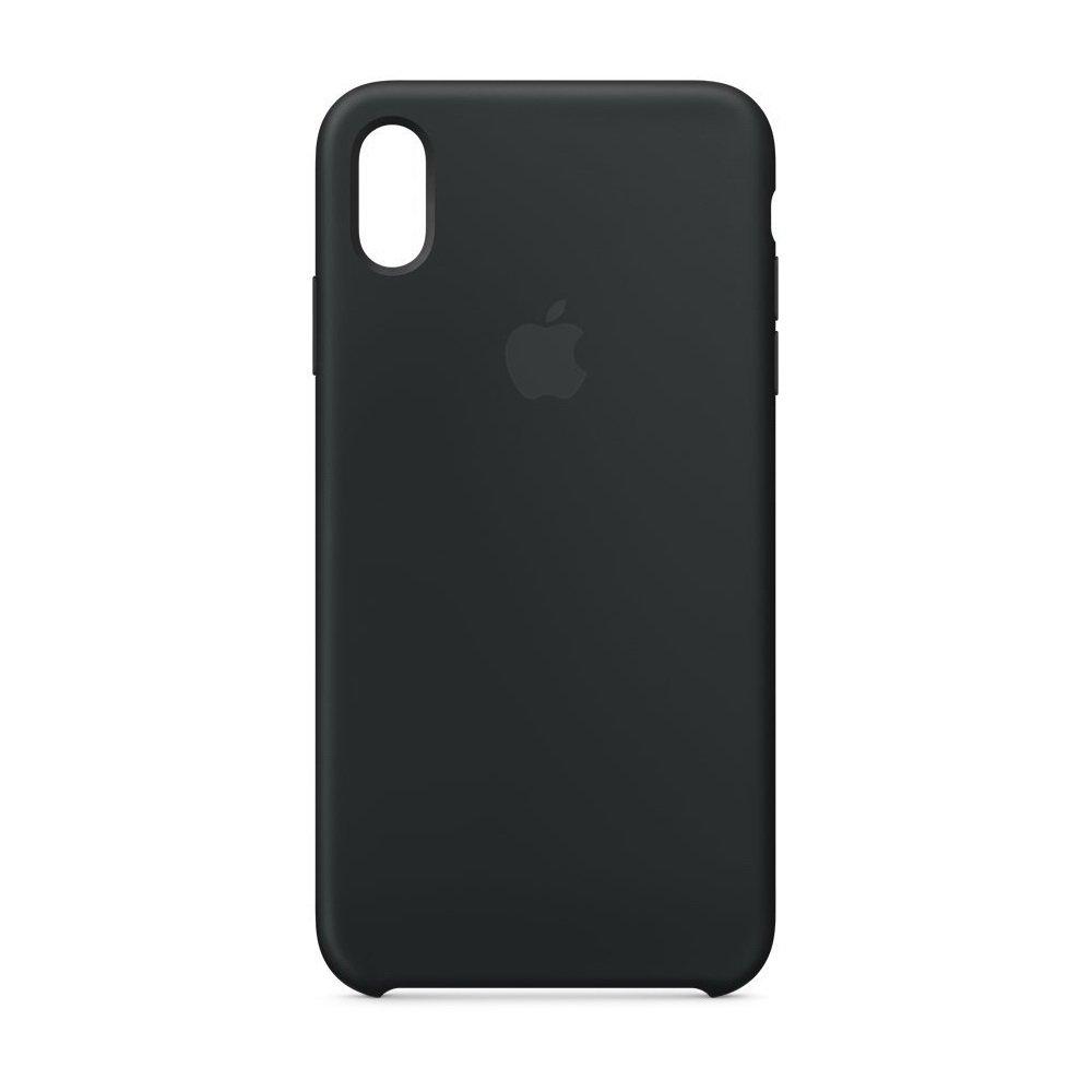 Силиконовый чехол чёрный для iPhone XR