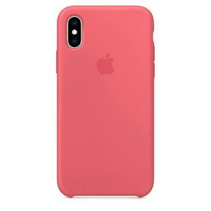 Силіконовий чохол Coral рожевий для iPhone X / XS