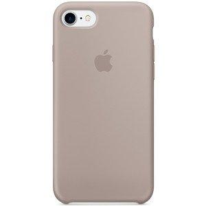 Чехол Apple Silicone Case серый для iPhone 7/8 (реплика)