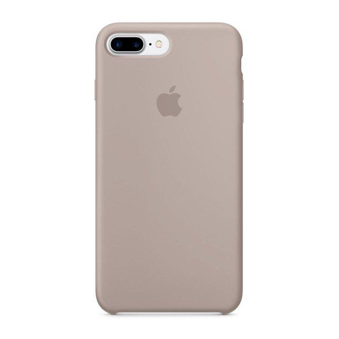 Силиконовый чехол темно-серый для iPhone 8 Plus/7 Plus