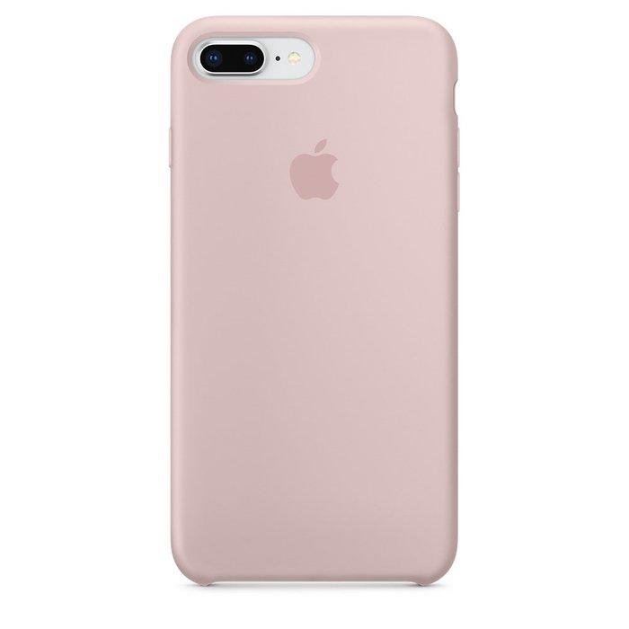 Силиконовый чехол розовый для iPhone 8 Plus/7 Plus