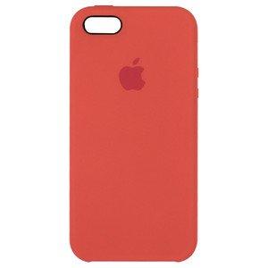 Чехол Apple Silicone Case оранжевый для iPhone SE/5/5S (реплика)