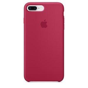 Силиконовый чехол ярко-розовый для iPhone 8 Plus/7 Plus