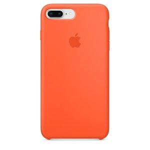 Чехол Apple Silicone Case оранжевый для iPhone 8/7 Plus (реплика)