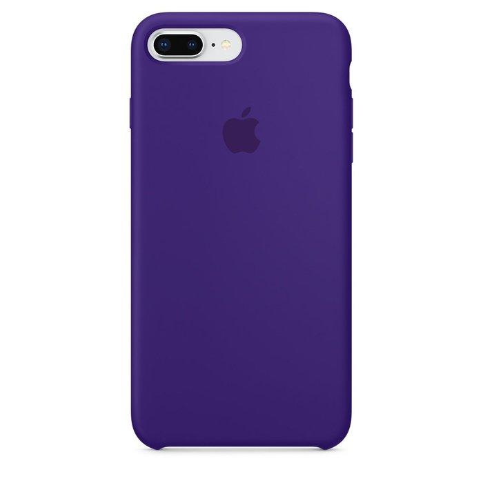 Силиконовый чехол фиолетовый для iPhone 8 Plus/7 Plus