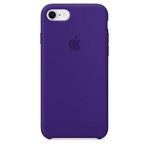 Чехол Apple Silicone Case фиолетовый для iPhone 8/7 (реплика)