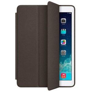 Чехол-книжка коричневый для iPad 2017/2018