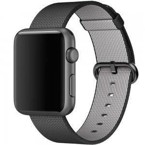 Нейлоновый ремешок COTEetCI W11 черный для Apple Watch 38/40 мм