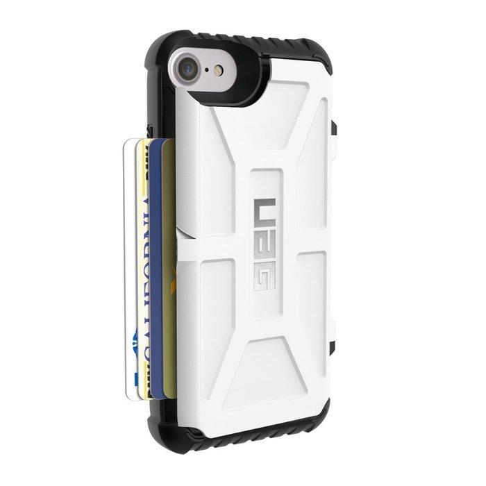 Чехол-накладка для Apple iPhone 8/7/6S/6 - Urban Armor Gear Trooper белый