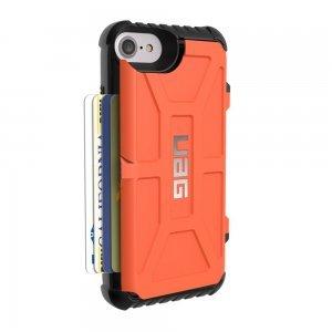 Чехол-накладка для Apple iPhone 8/7/6S/6 - Urban Armor Gear Trooper оранжевый