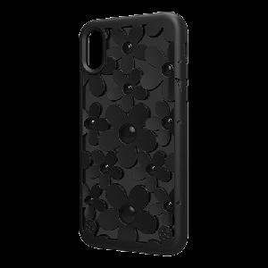 Чехол SwitchEasy Fleur чёрный для iPhone X/XS