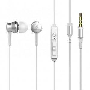 Навушники Baseus Lark сріблясті