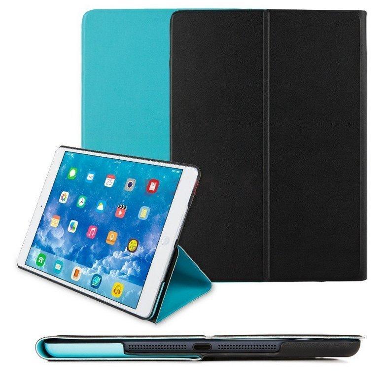 Чехол Smart Case черный + голубой для iPad Air/iPad (2017/2018)