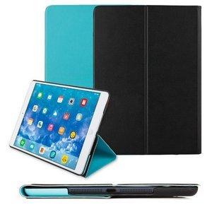 Чехол Smart Case черный + голубой для iPad Air/iPad (2017)