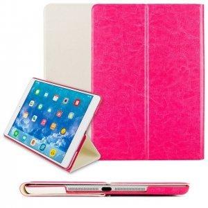 Чехол Smart Case белый + розовый для iPad Air/iPad (2017)