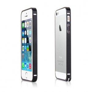Металлический бампер LEXAN серый для iPhone 5/5S/SE