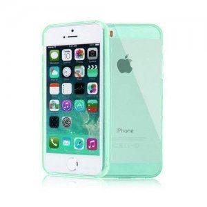 Чехол-накладка для Apple iPhone 5/5S силиконовый зеленый