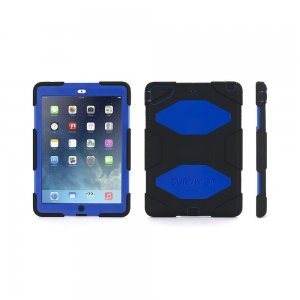 Противоударный чехол Griffin Extreme черный + синий для iPad Air/iPad (2017/2018)