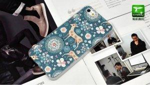 Чехол-накладка для Apple iPhone 5/5S с рисунком Fawn