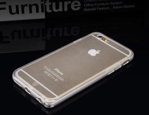 Чехол Baseus Fusion серебристый для iPhone 6S Plus/6 Plus