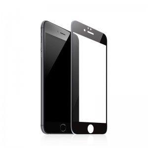 Защитное стекло Baseus silk screen printed full-screen, 0.2мм, глянцевое, черное для iPhone 7 Plus
