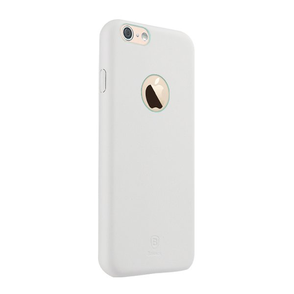 Чехол Baseus Thin белый для iPhone 6/6S
