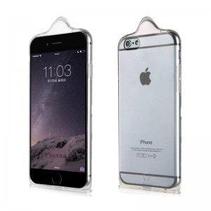 3D чехол Baseus icondom прозрачный для iPhone 6/6S