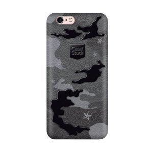 Ультратонкий чехол CaseStudi Military чёрный для iPhone 6/6S