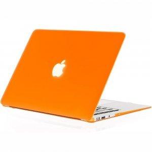 "Чехол-накладка для Apple MacBook Air 13"" - Kuzy Rubberized Hard Case оранжевый"