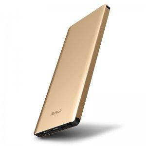 Внешний аккумулятор iWalk Chic 10000mAh золотистый