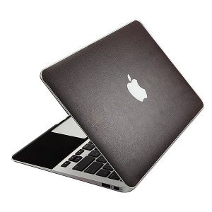 "Наклейка для Apple MacBook Air 11"" - SGP Leather Skin коричневый"