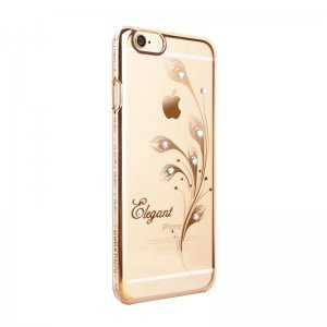 Чехол-накладка для Apple iPhone 6/6S - Kingxbar Foliflora Elegant