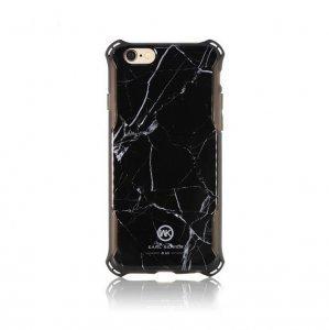 Чехол с рисунком WK Earl Marble чёрный для iPhone 8 Plus/7 Plus