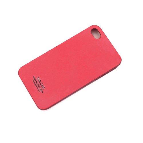 Чехол-накладка для Apple iPhone 4/4S - SGP красный