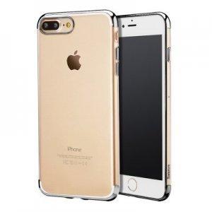 Силиконовый чехол Baseus Shining чёрный для iPhone 8 Plus/7 Plus
