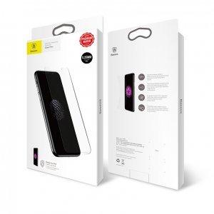 Защитное стекло Baseus 0.25mm Full-glass Anti-fingerprint Tempered Glass прозрачное для iPhone X/XS