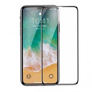 Защитное стекло Baseus 0.3mm All-screen Arc-surface черное для iPhone X/XS
