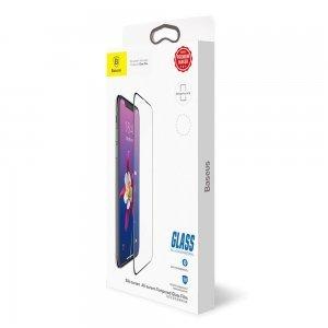 Защитное стекло Baseus 0.3mm Silk-screen All-screen глянцевое для iPhone X/XS