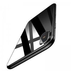 Защитное стекло Baseus 0.3mm Silk-screen Back Glass прозрачное для iPhone X