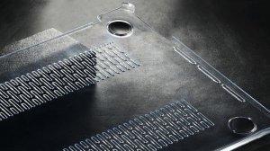"""Пластиковый чехол Baseus Air прозрачный для MacBook Pro 13"""""""