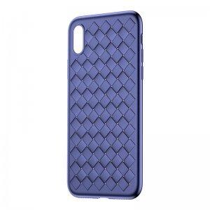 Чехол Baseus BV Weaving синий для iPhone X/XS