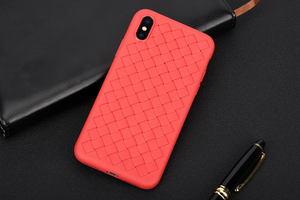 Чехол Baseus BV Weaving красный для iPhone X/XS